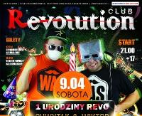 NASZ PATRONAT: Pierwsze urodziny Clubu Revolution! Przed nami trzy dni zabawy! (AUDIO)