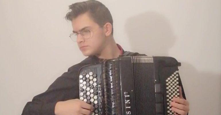 Międzynarodowy sukces akordeonisty z Sanoka