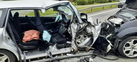 BRZOZÓW. Koszmarny wypadek na obwodnicy. Trzy osoby zostały ranne (ZDJĘCIA)