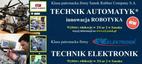 NABÓR DO KLAS PATRONACKICH ADR Polska S.A, EAE Elektronik i SANOK RUBBER COMPANY