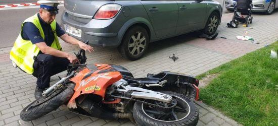 SANOK: Motorowerem uderzył w pieszych! (ZDJĘCIE)