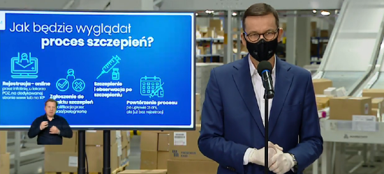 Darmowe szczepienia przeciwko COVID od lutego? (VIDEO)