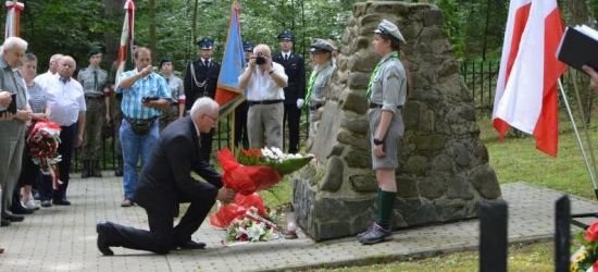 Upamiętnili ofiary na górze Gruszka (ZDJĘCIA)