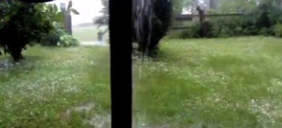Takiej burzy dawno nie widziałam (VIDEO INTERNAUTY)