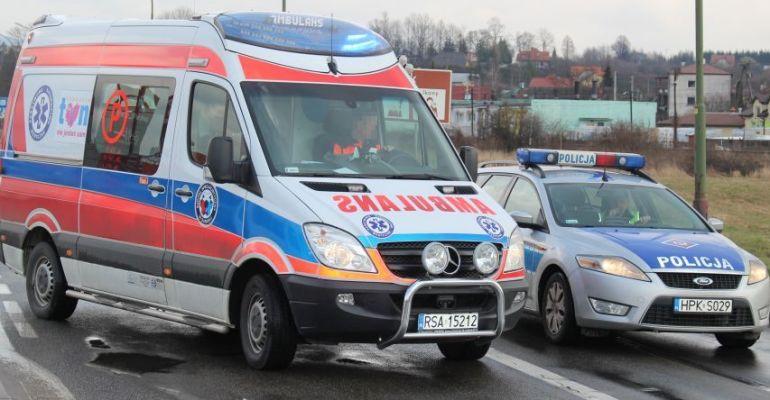 BESKO: Śmiertelne potrącenie pieszego