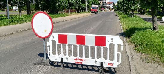 Zamknięta część ulicy Traugutta (ZDJĘCIA)