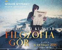 """Wielkie Wyprawy w Jasiu Wędrowniczku. """"Filozofia Gór"""" – spotkanie z prof. Romanem Kuźniarem"""