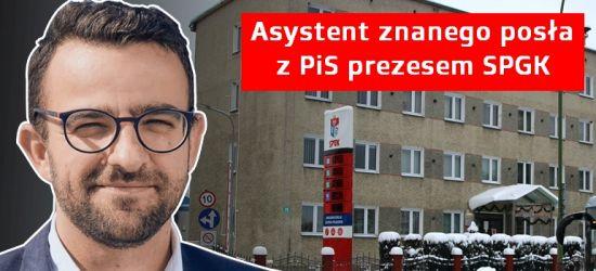 Krzysztof Jarosz, asystent czołowego polityka PiS, nowym prezesem SPGK. Opozycja pyta, dlaczego bez konkursu?