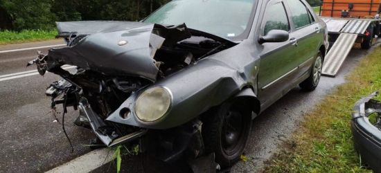Wypadek w Brzozowie. Policja publikuje ZDJĘCIA