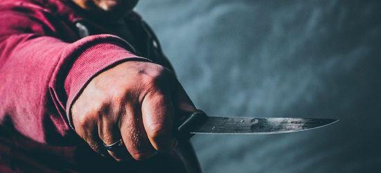 Zaatakował babcię nożem. Zatrzymany za usiłowanie zabójstwa
