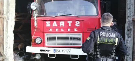 MRZYGŁÓD: Ukradziono akumulator z pojazdu strażackiego! Wóz uziemiony (ZDJĘCIA)
