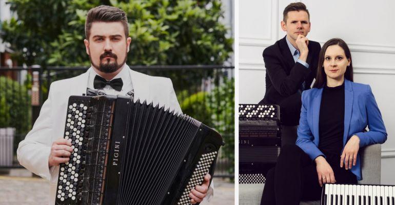 SPOTKANIA AKORDEONOWE. Bartosz Głowacki i duoAccosphere (ZDJĘCIA)