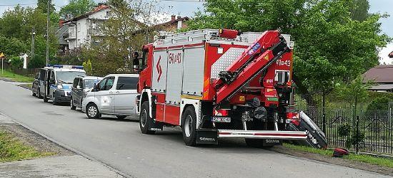 Śmiertelny wypadek w Trepczy. Nie żyje rowerzysta (ZDJĘCIA)