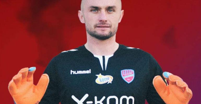 """Były piłkarz Stali Sanok w ekstraklasie! """"Pietia"""" bramkarzem Rakowa (ZDJĘCIA)"""