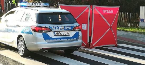 SANOK: Śmiertelne potrącenie na ul. Lwowskiej. Kobieta zginęła na przejściu (ZDJĘCIA)