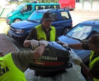 BiOSG: Siedem skradzionych silników do łodzi motorowych