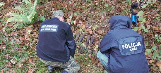 Operacja oczyszczanie. Znaleziono 30 pocisków moździerzowych (FOTO)