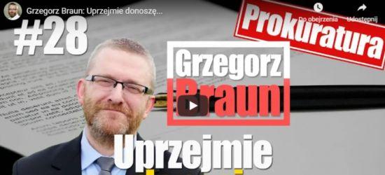 """Prokuratura zbada czy lider Konfederacji na Podkarpaciu Grzegorz Braun jest """"ruskim agentem""""?"""