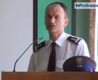 NOWY KOMENDANT POLICJI W SANOKU: Skupimy się na eliminowaniu chuligaństwa, dopalaczy i narkotyków (FILM)