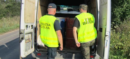 """Kolejna nielegalna """"stacja paliw"""" w Bieszczadach – zlikwidowana (ZDJĘCIA)"""