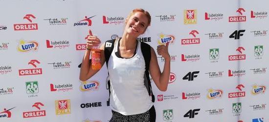Seniorski sukces lekkoatletki z Sanoka. Angelika Faka z brązowym medalem MP! (ZDJĘCIA)