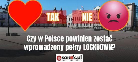 Czy w Polsce powinien zostać wprowadzony pełny lockdown? (ANKIETA)