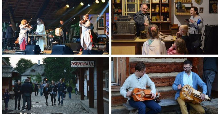 Kapela ze Wsi Warszawa, zwiedzanie Rynku Galicyjskiego. Finał Nocy Kultury Galicyjskiej (VIDEO, FOTO)