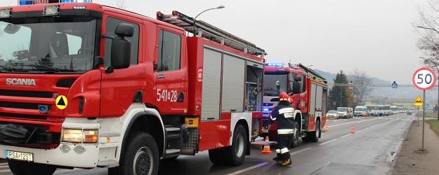 SANOK: Spowodował kolizję na ul. Krakowskiej i uciekł. Miał prawie 3 promile alkoholu