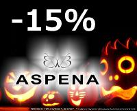 Promocja na Halloween! -15% w Sklepie Obuwniczym ASPENA!
