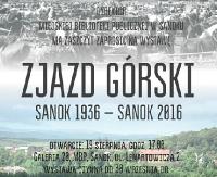 """Miejska Biblioteka Publiczna w Sanoku zaprasza na wystawę """"Zjazd Górski. Sanok 1936-Sanok 2016"""""""