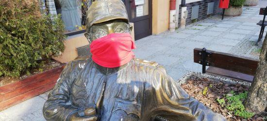 Sanocki Szwejk też w maseczce! (FOTO)