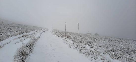 UWAGA: Bardzo złe warunki pogodowe w Bieszczadach!