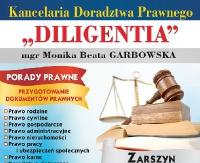 """Kancelaria Doradztwa Prawnego """"DILIGENTIA"""" wZarszynie"""