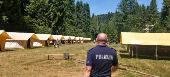 Kilkuset harcerzy rozpoczyna wypoczynek. Są bezpieczni w Bieszczadach?