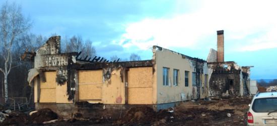 POŻAR W ORELCU: Zebrano 1600 zł na pomoc pogorzelcom. Prośba o suche siano (FOTO)