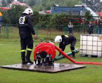 Powiatowe zawody strażackie w Posadzie Zarszyńskiej (FILM)
