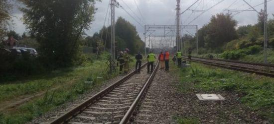 REGION: Śmierć na torach. 36-latek rzucił się pod pociąg