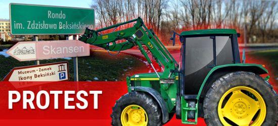DZISIAJ SANOK. Strajk rolników! Wjadą do miasta traktorami. Początek godzina 12.30