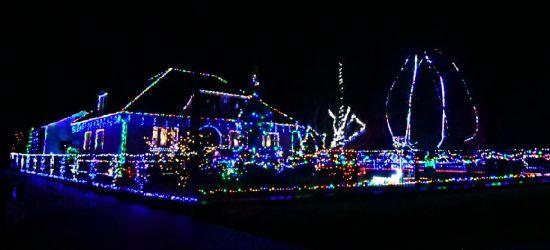 Bajkowy, świąteczny dom w Niebieszczanach! Robi wrażenie! (ZDJĘCIA)