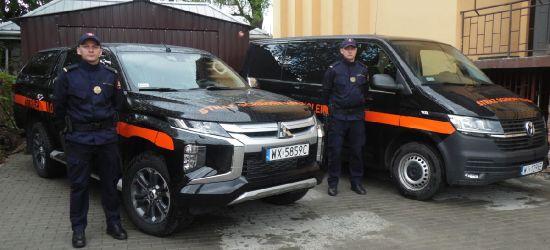 Nowe samochody dla Straży Ochrony Kolei w Zagórzu
