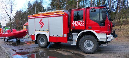 SANOK. Ulewy i wichury. Prawie 30 interwencji strażaków (VIDEO, ZDJĘCIA)