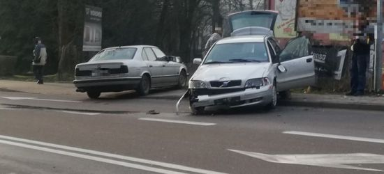 Stłuczka na ulicy Jagiellońskiej. Uważajcie! (ZDJĘCIA)