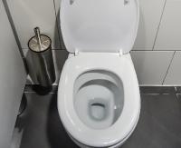 SANOK: Policja interweniowała w urzędowej toalecie. W środku spał poszukiwany mężczyzna