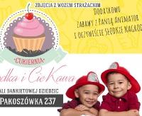 Cukiernia Słodka i CieKawa w Pakoszówce zaprasza na kolejne Słodkie Popołudnie tym razem ze strażakami