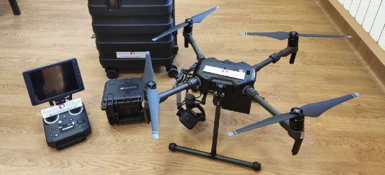 NIEBIESZCZANY: Nowoczesny dron dla jednostki OSP. Bezcenna pomoc podczas poszukiwań (VIDEO, ZDJĘCIA)