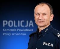 Mł. insp. Andrzej Stępień Komendantem Powiatowym Policji w Sanoku (ZDJĘCIA)