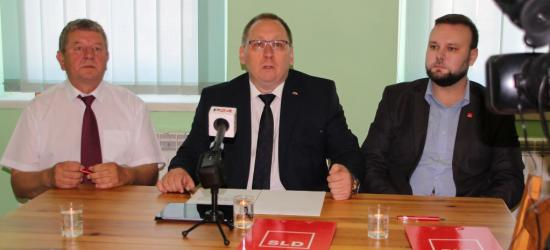 Robert Płaziak kandydatem SLD na burmistrza Sanoka (FILM, FOTO)