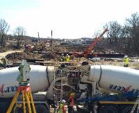 OBWODNICA SANOKA: Z placu budowy wyłania się właściwy kształt inwestycji. Zobacz fotorelacje z drona i z ziemi (ZDJĘCIA)
