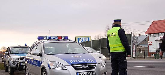 """Policyjne działania """"Pieszy"""""""