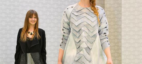Z koszuli zaprojektowała sukienkę. Mariola Wróbel najlepsza w konkursie modowym (ZDJĘCIA)